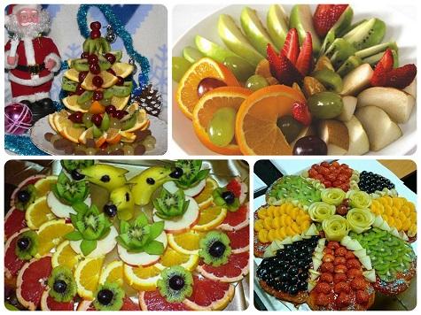 Раскладываем-фрукты-на-Новый-год