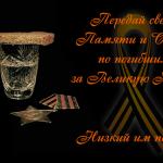Поздравляю с днем Великой Победы!